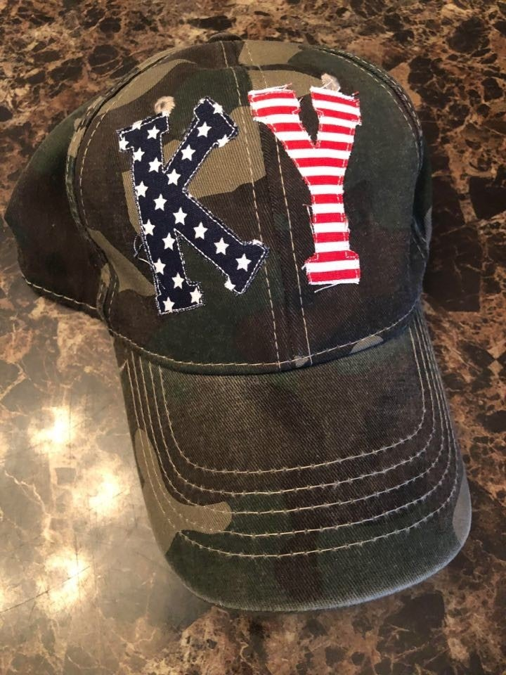 Stars and Stripes Camo Hat