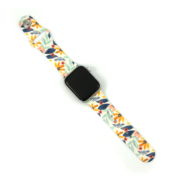 Smart Watch Band - Floral