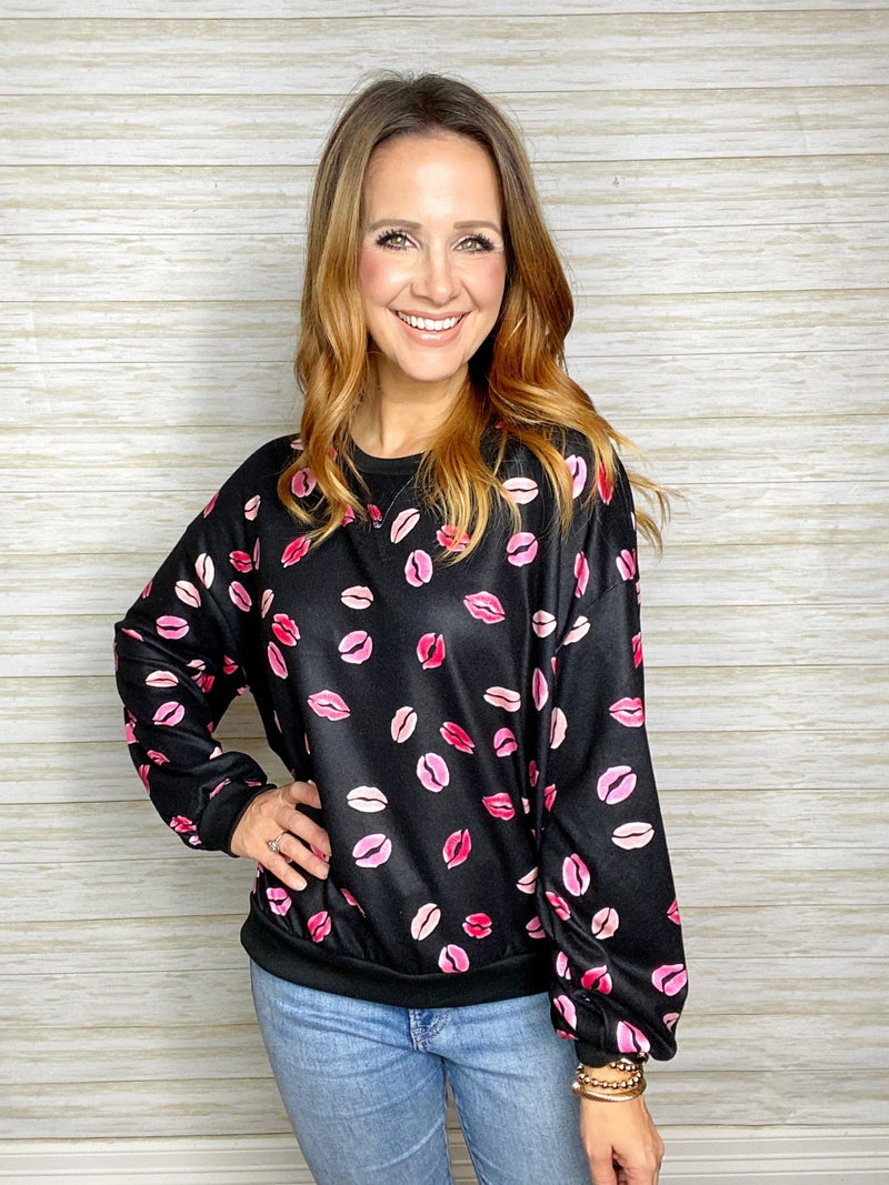 FINAL SALE - Isadora Kiss Me Pullover