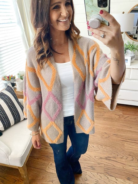 FINAL SALE - Argyle Cardigan - ML ONLY