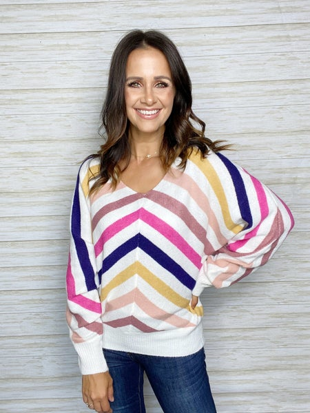 Sienna Multi Stripe Sweater