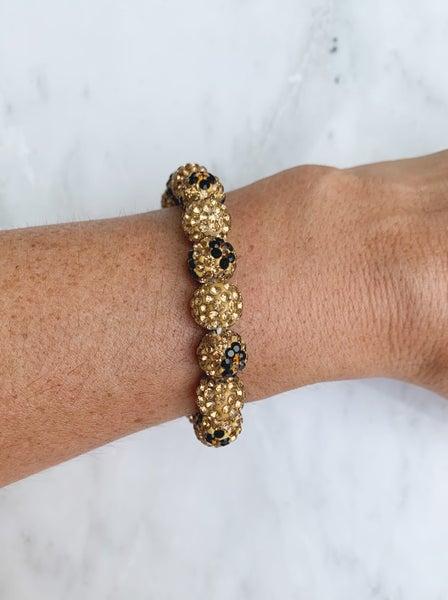 Leopard stretch bracelet