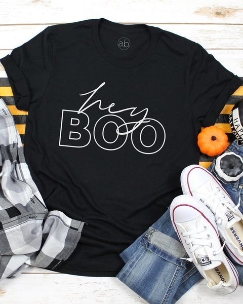FINAL SALE - Hey, Boo Tee