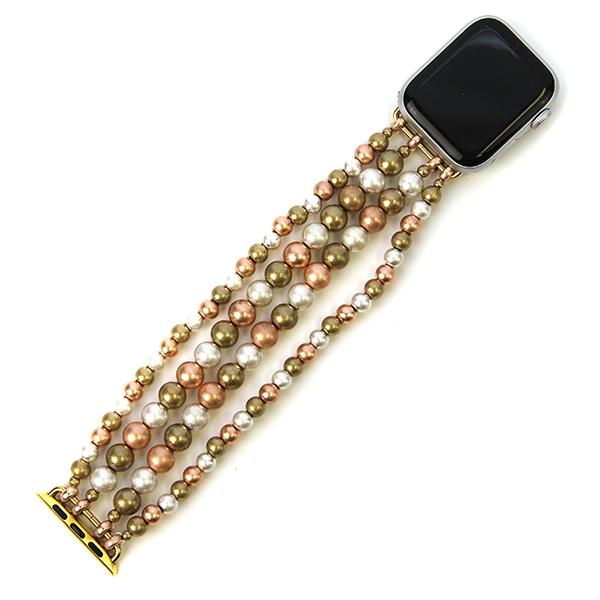 Smart Watch Band - Mixed Metal Beads