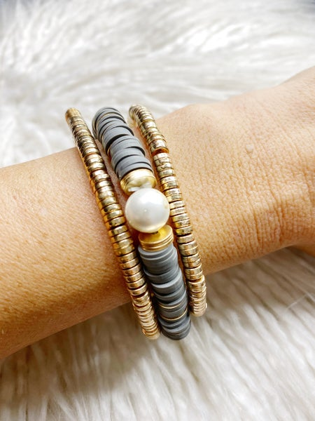 Riverstown Stretch Stack - Gray