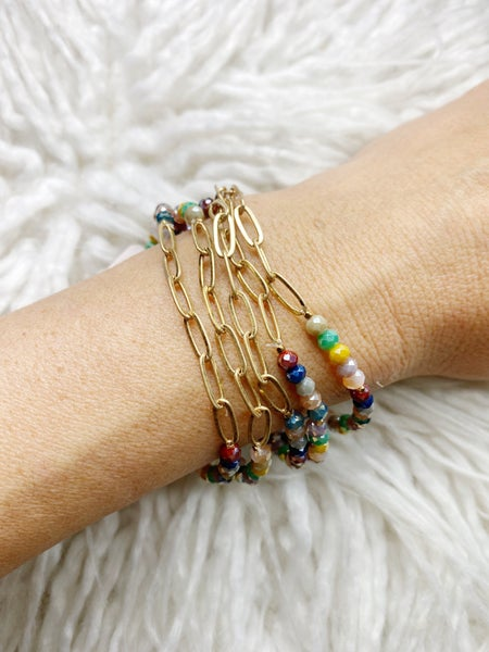 Claremont 5 Bracelet Stretch Stack - Multicolor