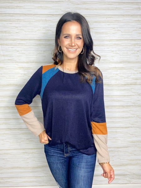 Sloan Colorblock Pullover