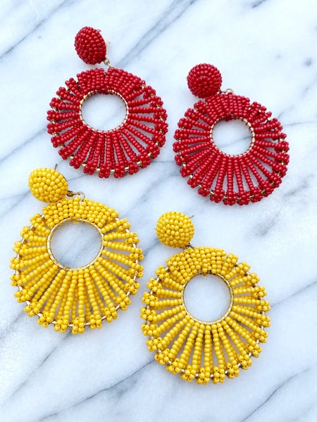 The Bandera Beaded Earrings