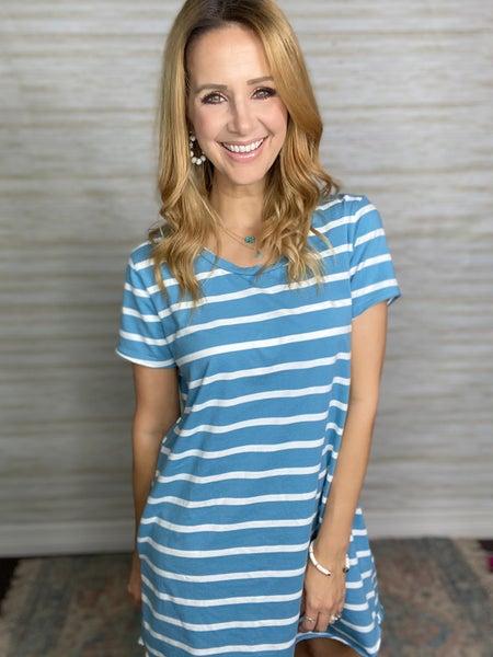 Maggie Stripe Dress