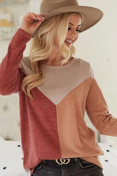 Alani Colorblock Pullover