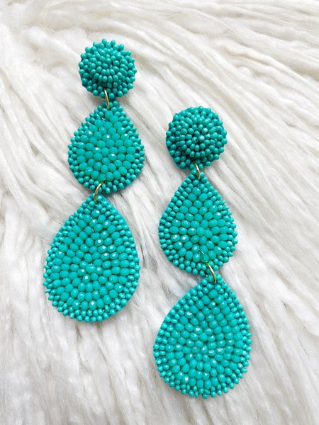 Wyndham Turquoise Tiered Drops