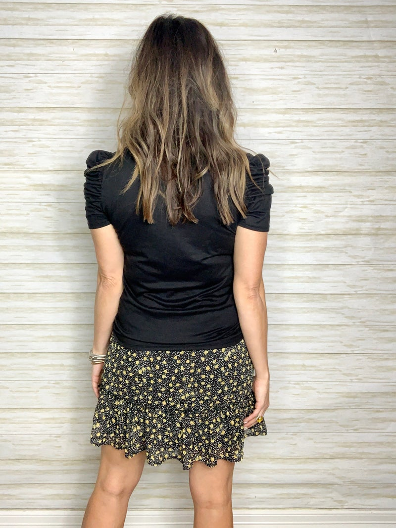 Harlow Floral Print Skirt