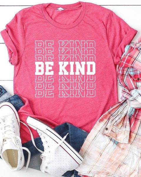 Be Kind Tee - Berry
