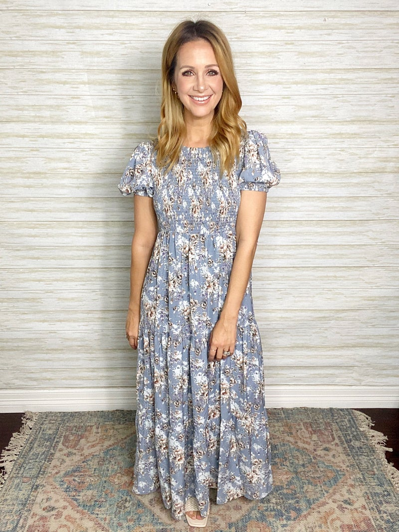 Wendy Floral Maxi