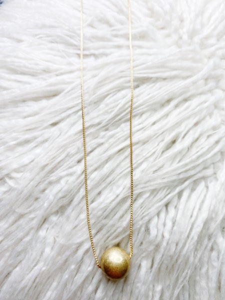 Palmer Party Ball Pendant Necklace