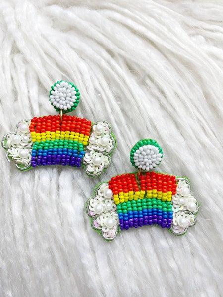 Dublin Rainbow Drop Earrings