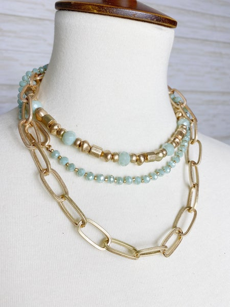 The Louviers Necklace - Turquoise