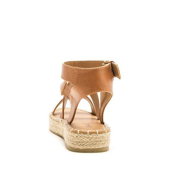 Eden Strappy Sandals - Black