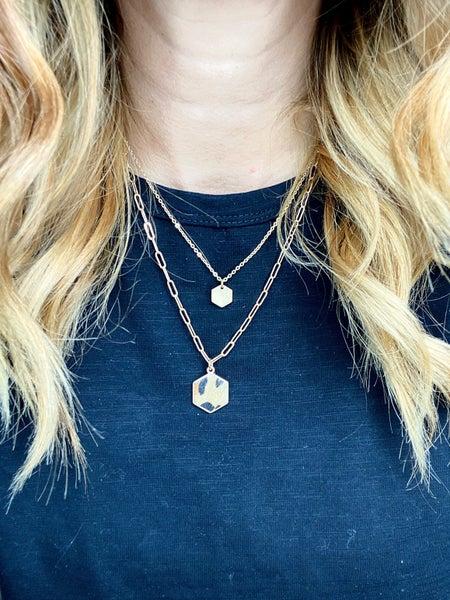 Prescott Double Layer Leopard Necklace