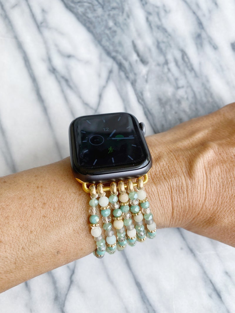 The Benbrook Beaded Watch Band