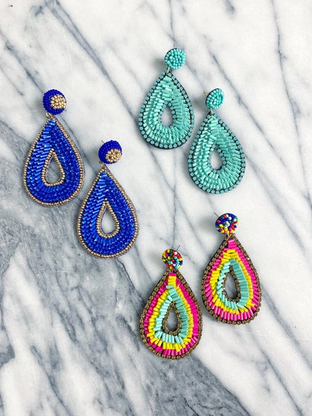 The Rosedale Teardrop Earrings