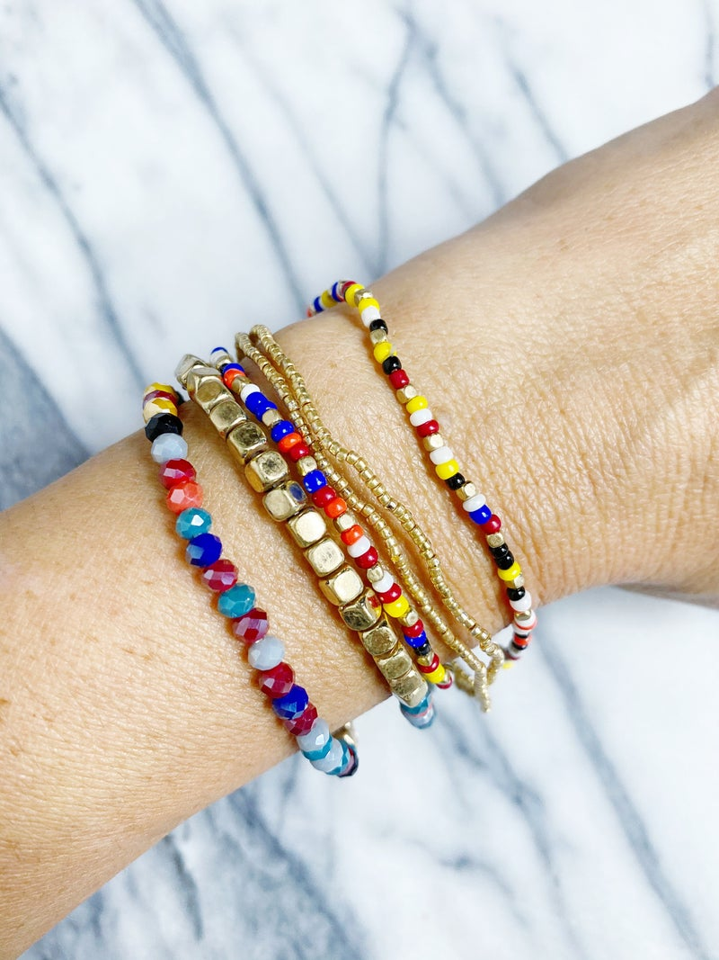 Retta Beaded Stretch Stack
