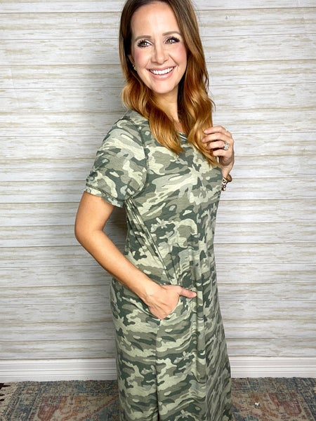 Alchemy Camo Dress