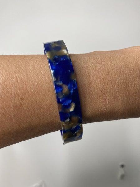 Blue Resin Cuff