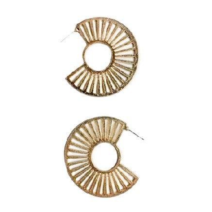 Arc Earrings in Gold