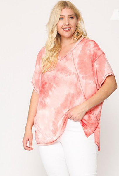 Mosaic Top in Pink