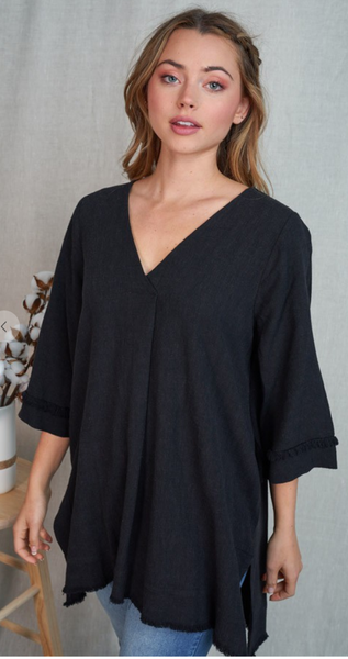 Be Bold Top in Black