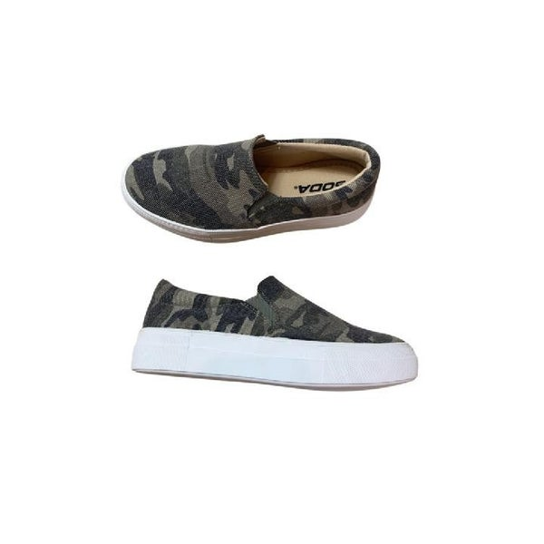 Stay Casual Canvas Sneakers in Camo