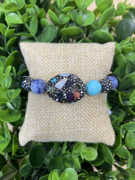 Multicolor Stones Bracelet