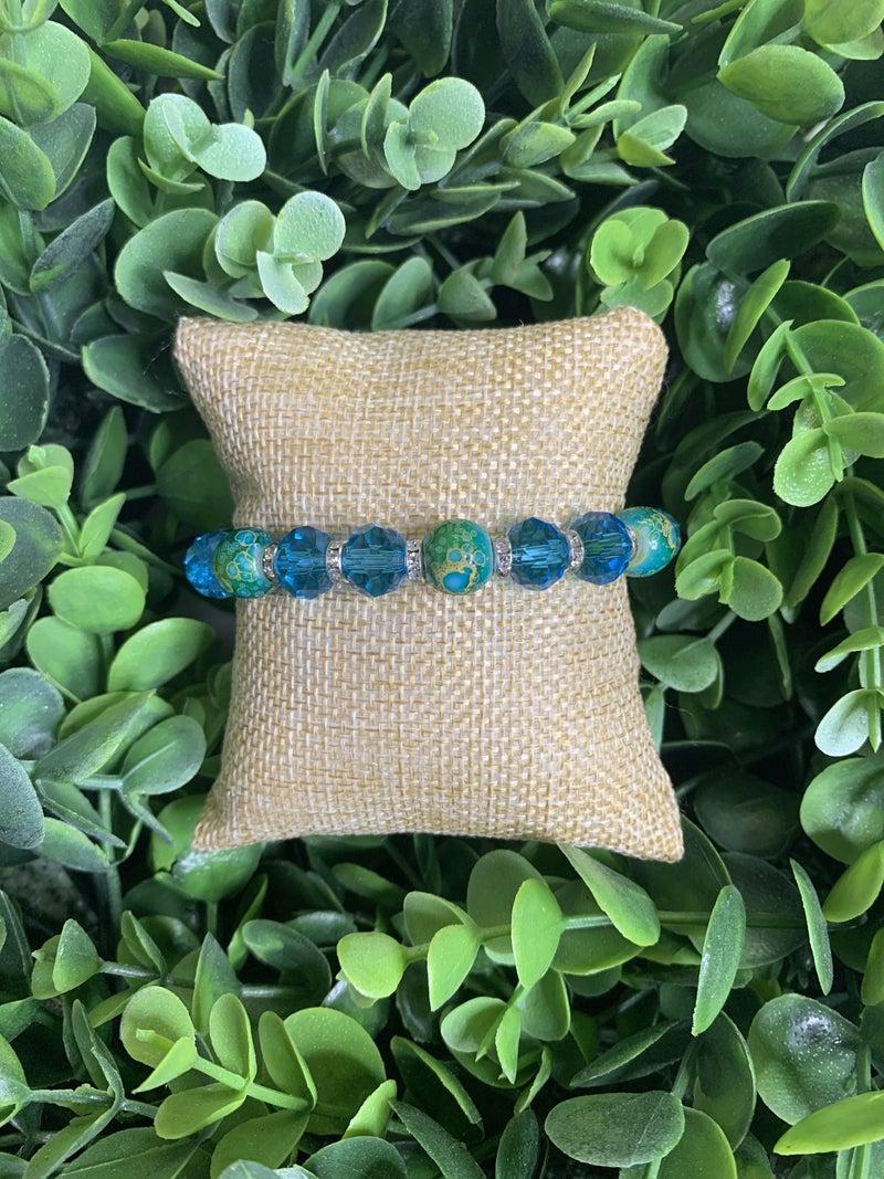 Island Tropics Bracelet in Blue
