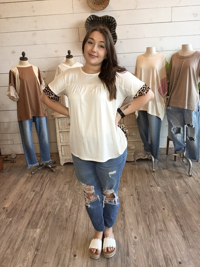 Sashay Top In Off White