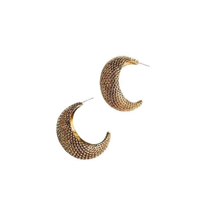 Cornucopia Earrings in Gold
