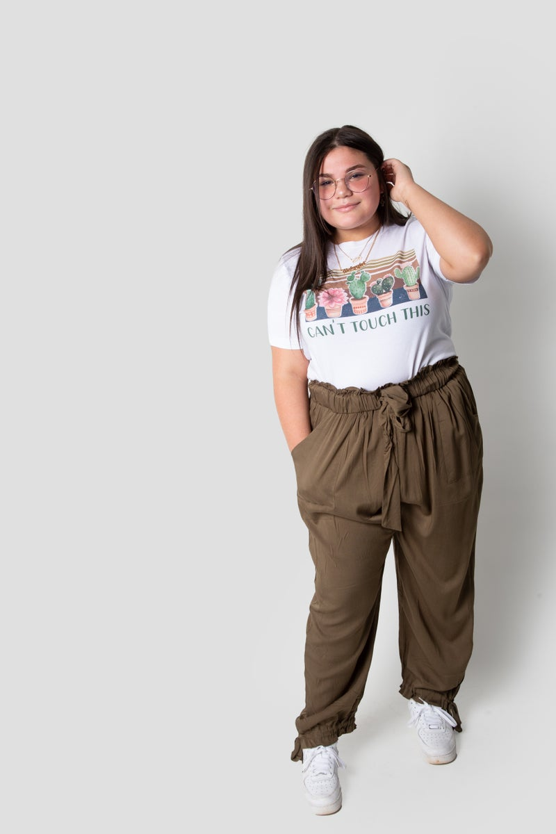 Laid Back Joggers in Dark Green