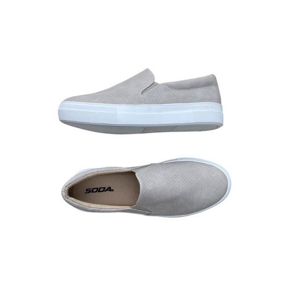 Stay Casual Sneakers in Tan