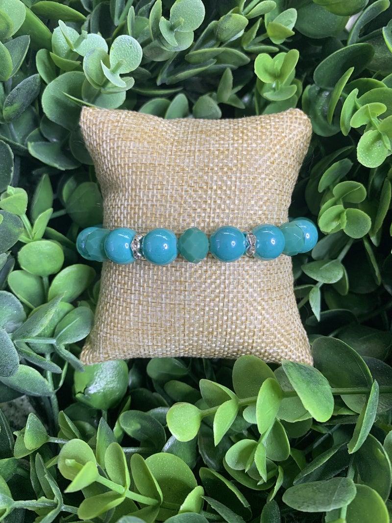 Island Breeze Bracelet in Blue and Green
