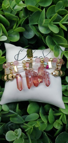 Pink Crystals Erimish Set (Ext)