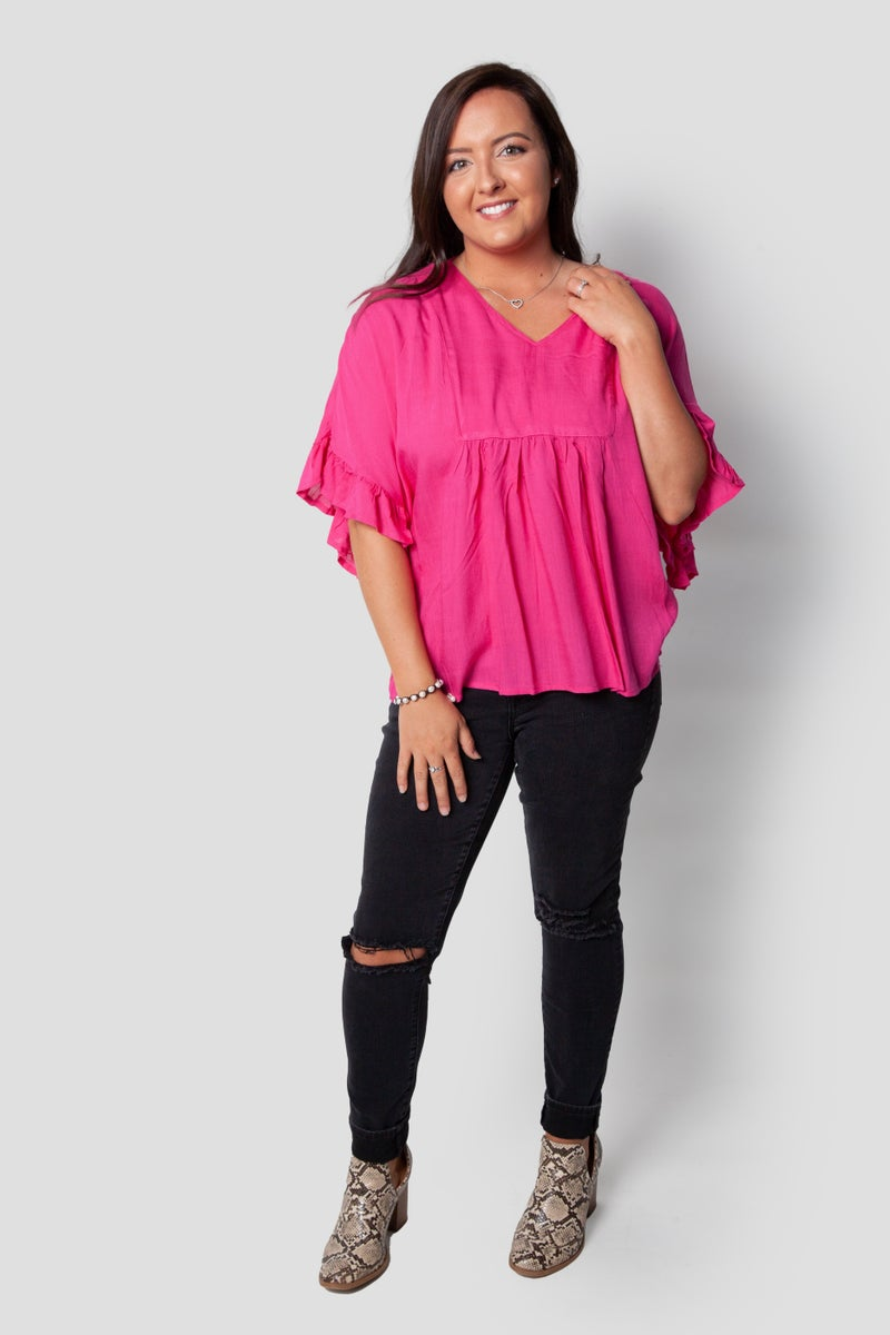 Empirical Top in Pink
