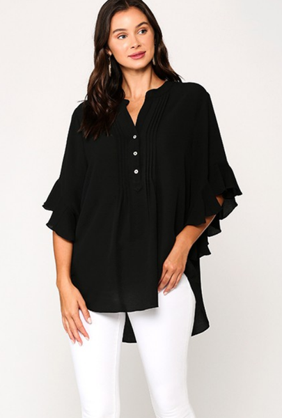 Good to Go Top in Black