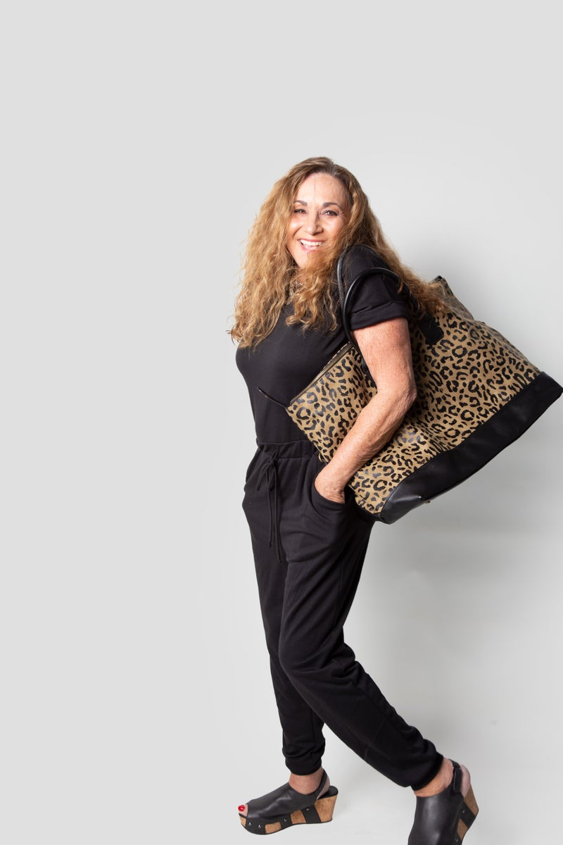 Leopard Canvas Bag