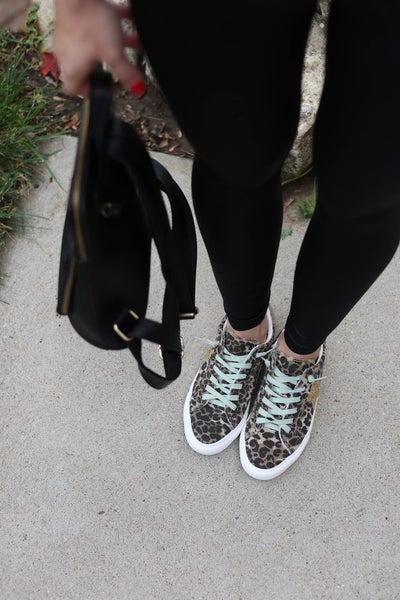 Cosmic Leopard Sneakers