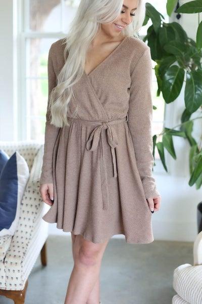 Amelia Rib Knit Dress