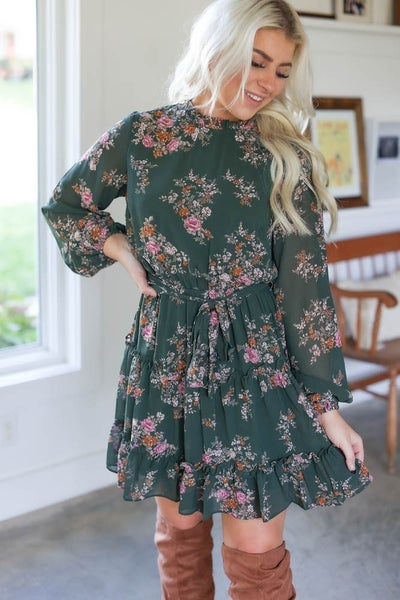 Amber Floral Dress
