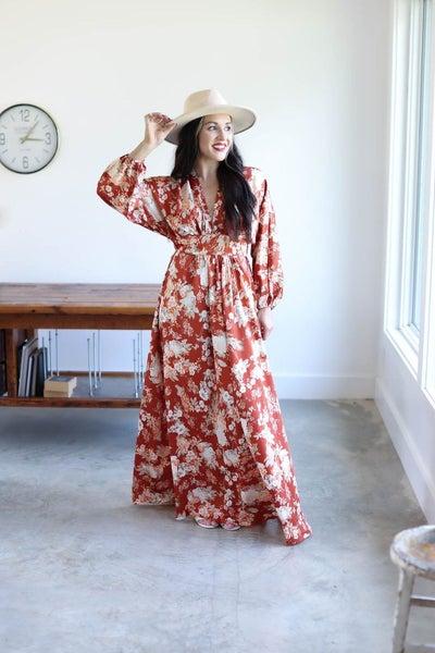 Dixie Floral Maxi Dress