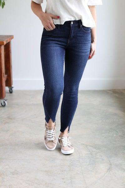 Kahlo Mid Rise Skinny Jean