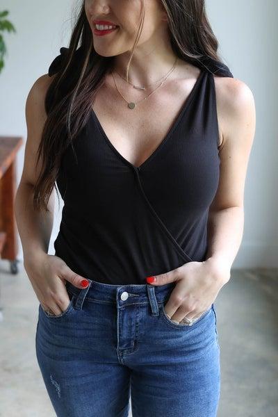 Kira Shoulder Tie Bodysuit