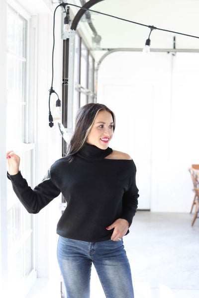 Carly Cut Out Sweater